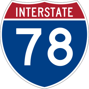 From Route 78 West Or East Exit 57 Newark International Airport To Rt 1 9 South Elizabeth Follow The Signs North Ave